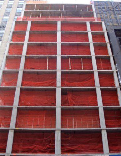 Fire Retardant Vertical Safety Netting